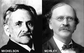 Figure Relativity : Michelson and Morley